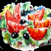 Салат рыбный «Сантим»