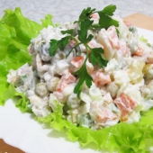 """Русский"" салат"