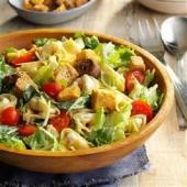 Вегетарианский салат «Цезарь»