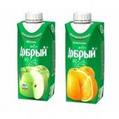 Сок 0.33 л (ябл.апельсин)